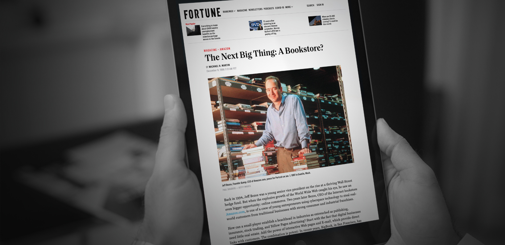 Fortune: The Next Big Thing: A Bookstore?