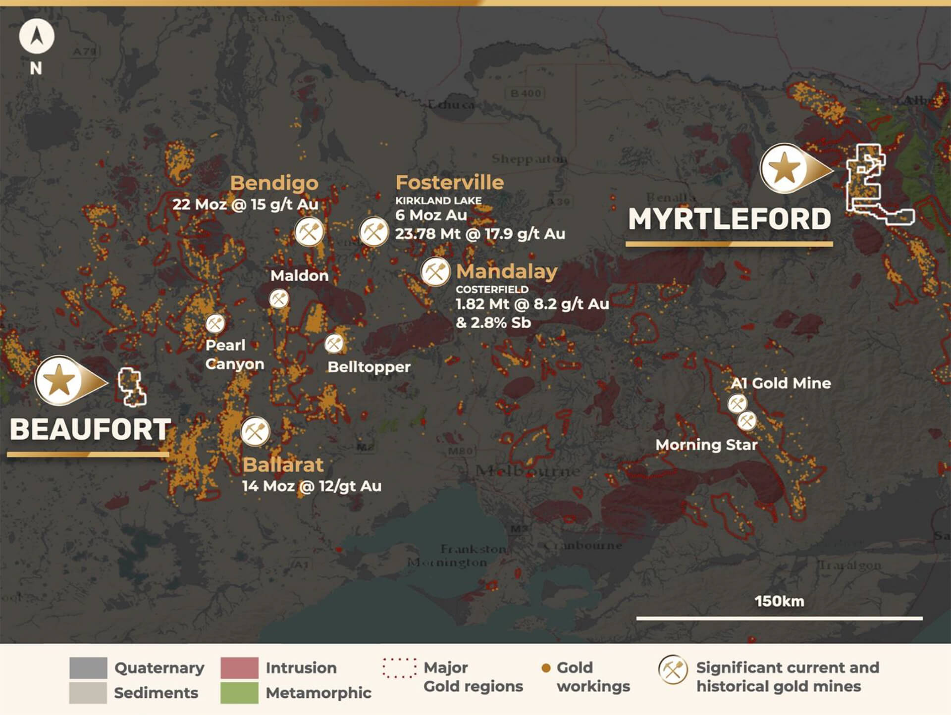 myrtlefort and beaufort map