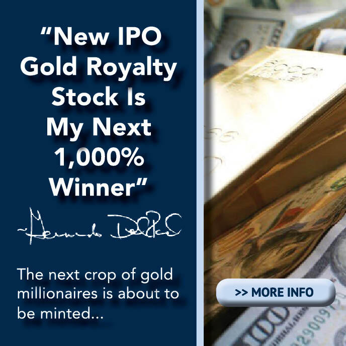 New IPO Gold Royalty Stock